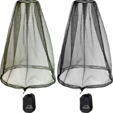 Rete Antizanzare Zanzariera Viso Protezione Cappello Insetti Fly Net