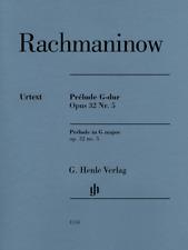Henle Urtext Rachmaninow Prelude in G Major Op. 32 No. 5