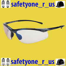 Bolle Safety Glasses Sidewinder - Light Smoke Blue Lens with ESP