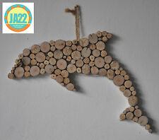 "Driftwood ""Dolphin"" Bathroom Shabby Chic Hand Crafted Charm Home Decor"