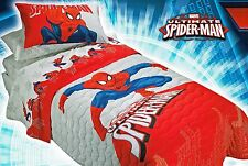 Original Marvel Spider-Man Kids Boys Bed Cover Quilt Blanket Superhero Comics