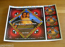 "Roky Erickson 2005 Poster 20"" x 26"" Printers Proof Sheet 13th Floor Elevators"