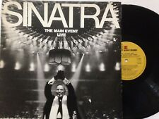 "FRANK SINATRA 12"" Vinyl LP 1974 THE MAIN EVENT LIVE **Free UK Postage**"