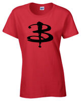 Buffy T Shirt Vampire Inspired TV Show Slayer Womens ladies retro