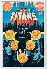 DC - NEW TEEN TITANS ANNUAL #2 - 1st Vigilante App - VF/NM 1983 Vintage Comic