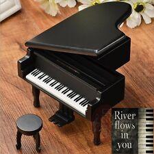 Japan Sankyo Black Wood Piano Music Box : River Flow in You @ Yiruma