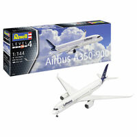 """REVELL Airbus A350-900 Lufthansa """"New Livery"""" 1:144 Aircraft Model Kit 03881"""