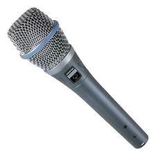 Shure Beta 87A Kondensator Supercardioid Vocal Mikrofon. U.S Vertragshändler