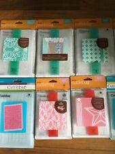Cuttlebug 20 Embossing Folders, 10 border folders and 2  Embossables
