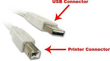 15Ft. (15 Feet) USB 2.0 A Male to B Male Printer Scanner Cable UL Listed