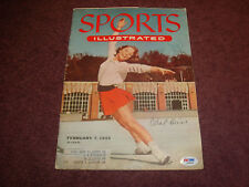 Carol Heiss 1960 Gold Signed 1955 Sports Illustrated Psa/Dna Certified Auto Td