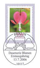 BRD 2006: Tränendes Herz Nr 2547 mit Berliner Ersttags-Sonderstempel! 1A! 1607