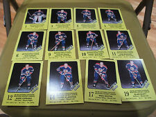 1989-90 VICTORIA COUGARS WHL TEAM SET (21)