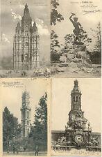 Lot 4 cartes postales anciennes VALENCIENNES 2