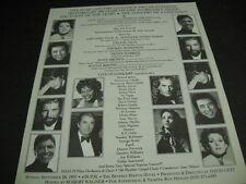 Celine Dion Smokey Robinson Michael Bolton Diane Warren more 1997 Promo Ad