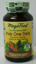 Mega Food Kids One Daily Multivitamin & Mineral Supplement 60 Tablets 09/21