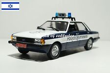 Ford Cortina MKV (1979) Police of Israel DeAgostini Scale 1 43 Diecast model car