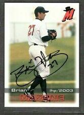 2003 Grandstand #27 Brian Mazone High Desert Mavericks signed autograph (C84)