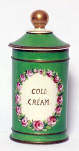 Sevres Apothecary Drug Store Victorian Cold Cream Jar
