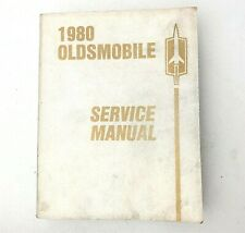 1980 Oldsmobile Cutlass Toronado Shop Service Repair Manual  Engine Drivetrain