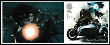 GB Harry Potter Hagrid's Motorbike single (from collector sheet) MNH 2018
