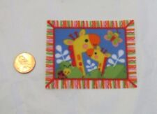 NEW Fisher Price Loving Family Dollhouse BABY BLANKET Giraffes for 2-3' Doll
