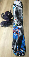 Burton Snowboard, Bindings and Boots WOMENS 150cm Board