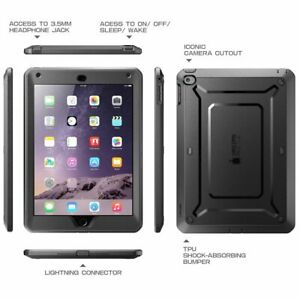 """SUPCASE For Apple iPad Air 2 (2nd Gen) 9.7"""" Case Built-in Screen Protector Cover"""