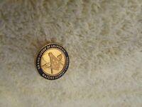 Vintage Masonic Grand Lodge of California 1997 Lapel Tie Tack Mason Pin Back