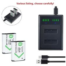 NP-BX1 Battery or charger for Sony Cyber-Shot DSC-RX100 RX100 RX1 M8 DSC-HX80