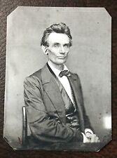 Abraham Lincoln Civil War President tintype  C85RP