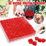 Box of 81Pcs Set Rose Bath Soap Flower Petal With Box For Wedding Valentine Gife