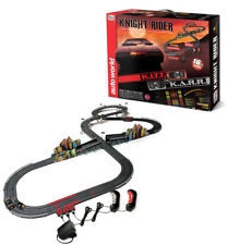 Auto World 16' Knight Rider Slot Car Race Set W/ K.I.T.T. and K.A.R.R