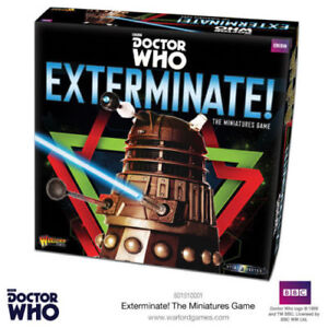 DOCTOR WHO INTO THE TIME VORTEX - EXTERMINATE THE MINIATURES GAME - WARLORD