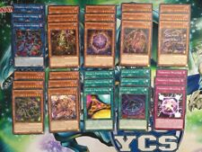 Yu-Gi-Oh! Tindangle Deck - all cards ever printed! - EXFO/FLOD - 1st Edition NM