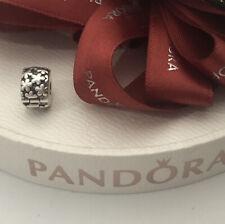 Pandora Charm Clip Flower Burst 790533 Retired Authentic Ale 925 Fixed Charm