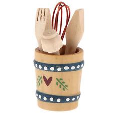 1/12 Set di utensili da cucina Casa delle bambole in miniatura Pentole da
