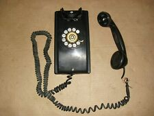 Vintage Bell System Western Electric Rotary Telephone F1 Hand Set missing ear pc