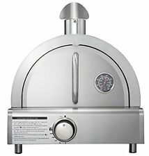 Mont Alpi MAPZ-SS Table Top Gas Pizza Oven Large SS Grills, New