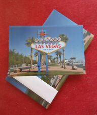 50 Welcome to Las Vegas Sign Postcards South Strip Blue Sky Day Glossy USA Lot