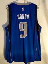 Adidas Swingman NBA Jersey Dallas Mavericks Rajon Rondo Blue sz 2X