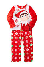 NWT The Elf On The Shelf Girls Pajamas 2 Piece 2T