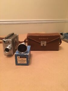 Bell & Howell Model 200 16mm Magazine Movie Camera+25mm f1.8 With 16mm Lense.