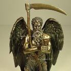 "11"" CHRONOS Greek Father of Time Sculpture Statue Antique Bronze Finish"