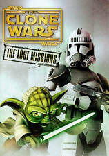 Star Wars: The Clone Wars - The Lost Missions (DVD, 3-Disc Set) FREE SHIP