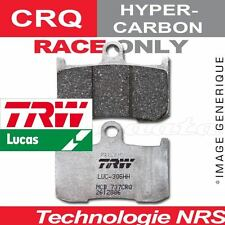 Plaquettes de frein Avant TRW Lucas MCB 721 CRQ pour Husqvarna SM 510 R 06-