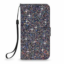 For Google Pixel/ XL Luxury Bling Crystal Wallet Card Slot Stand Flip Case Cover