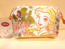 Disney Store Japan Beauty and Beast Belle Bijou Jewel Gem Cosmetic Makeup Bag