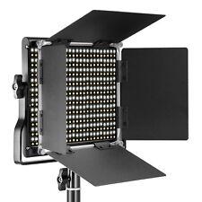 Neewer Luce 660 Bulbi LED 3200-5600K CRI 96+ Bicolore con Staffa-U e Barndoor