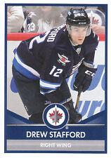 16/17 PANINI NHL STICKER #423 DREW STAFFORD JETS *24621
